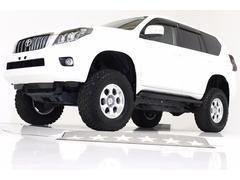 ランドクルーザープラドTX 4WD リフトUP プッシュスタート ナビ 改造車