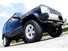 クライスラージープ チェロキーリミテッド 4WD 本革電動シート SDナビ ワンセグTV