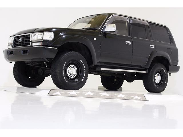 トヨタ GX 4WD リフトUP サンルーフ レザー調シートカバー
