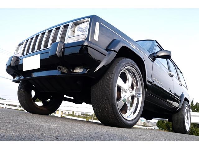 クライスラー・ジープ リミテッド 4WD HDDナビ フルセグTV 社外20AW