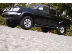 ダットサンピックアップWキャブAXリミテッド 4WD 1オーナー CD キーレス