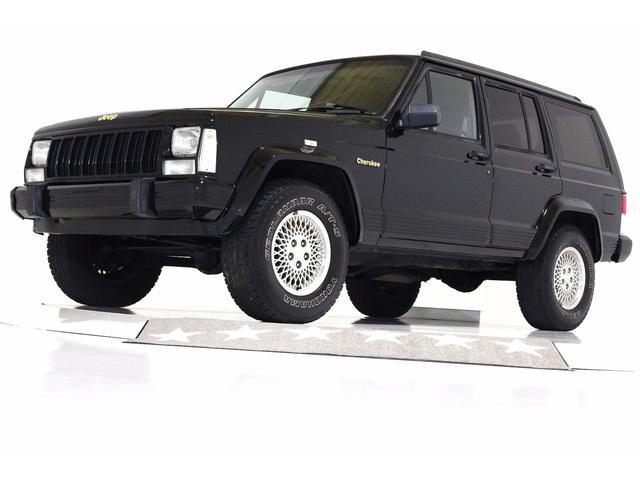 クライスラー・ジープ LTD 4WD 本革電動シート ETC 1ナンバー登録可能