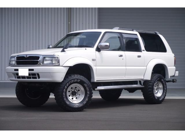 マツダ 4WD リフトUP ETC ウッドハンドル 社外シャックル