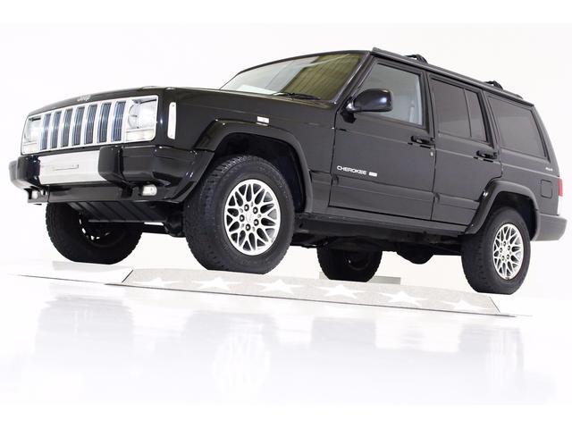 クライスラー・ジープ LTD 4WD ETC 本革電動シート クルコン 貨物登録可