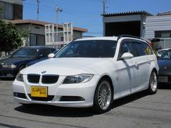 BMW320iツーリング ブレイトン18インチアルミ 社外ナビTV