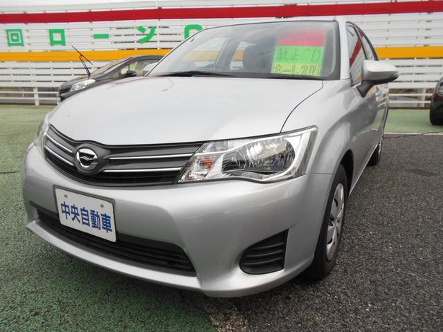 トヨタ カローラアクシオ 1.3X 純正オーディオ キーレスエントリー 電動格納ミラー