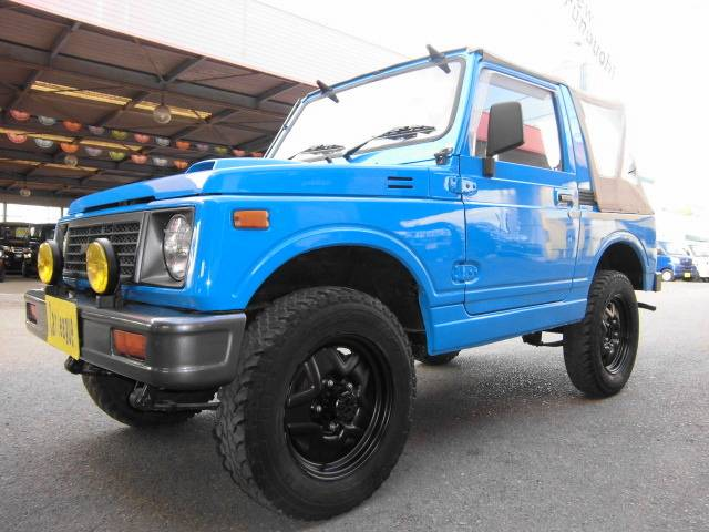 スズキ ジムニー CC 5MT 4WD 幌車 純正カラー全塗装済