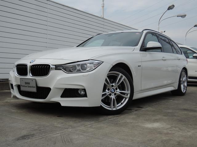 BMW 320dツーリング Mスポーツ ワンオーナー 純正ナビETC