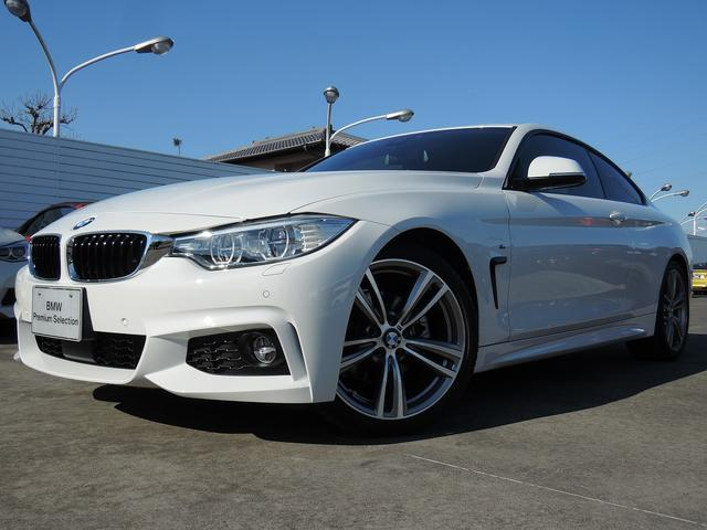BMW 430iクーペ Mスポーツ  ユーザー下取 ACC19インチ