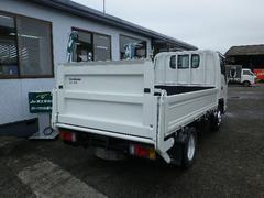 エルフトラックパワーゲート付きフラットロー2トン木製ボディ5速3ペダル