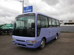 ジャーニーバス26人乗 5速 スイング自動ドア モケットシート Rヒーター