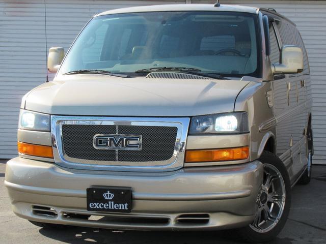 GMC ギャラクシーインテリア 4WD サンルーフ 社外HDD地デジ