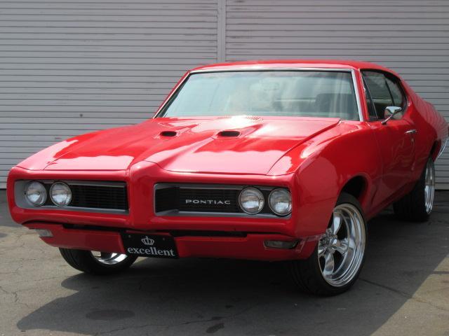 ポンテアック GTO アメリカンレーシング18inAW ブラックレザー