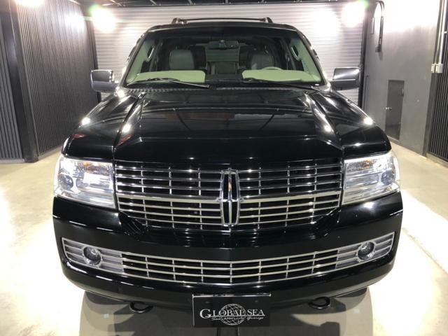 リンカーン ベースグレード ユーザー買取り車 1ナンバー登録車 パートタイム4WD 電動サイドステップ 電動リアゲート 社外ナビ Bカメラ ETC 3列シート レザーシート