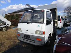 サンバートラックダンプ 5速MT 4WD