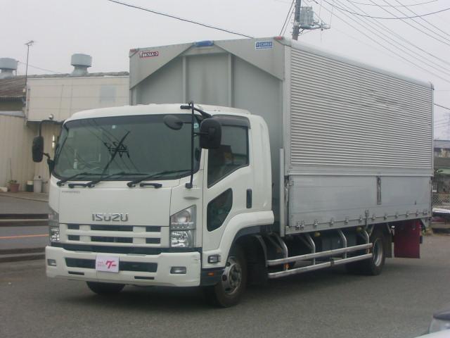 いすゞ アルミウイングワイド キセノン バックモニター 6速MT