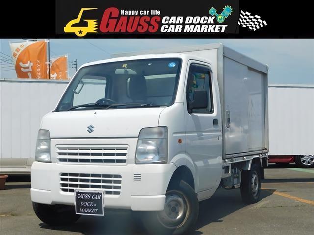 KCパワステ 3方開 4WD パネルトラック/ワンオーナー(1枚目)