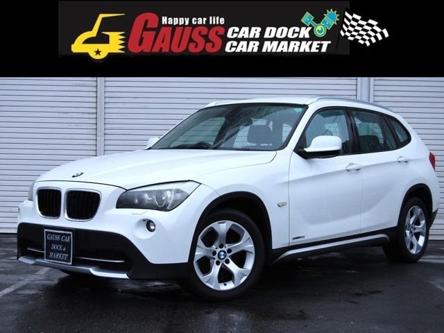 BMW X1 sDrive 18i ディーラー車 17インチAW キーレス スマートキー ターボ MTモード付AT フォグランプ ヘッドライトウォッシャー オートライト オートエアコン 下取り車両高価買取実施中