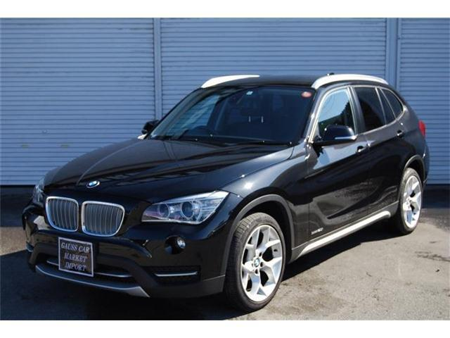 BMW X1 sDrive 20i xライン  後期モデル 純正HDDナビ ETC HDDナビ バックカメラ ナビ MTモード付AT スマートキー スペアキー 純正アルミ ルーフレール ターボ
