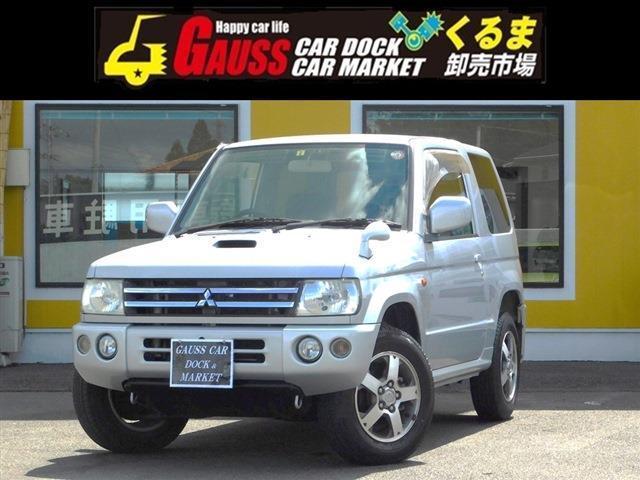 三菱 アクティブフィールドエディション 4WD ナビ/純正アルミ/ターボ
