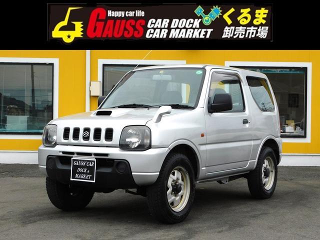 スズキ ジムニー XL ワンオーナー ユーザー買取 4WD ターボ 電動格納ミラー 希少マニュアル5速 エアコン オーデイォ KEYレス 走行12万Km 3ドア