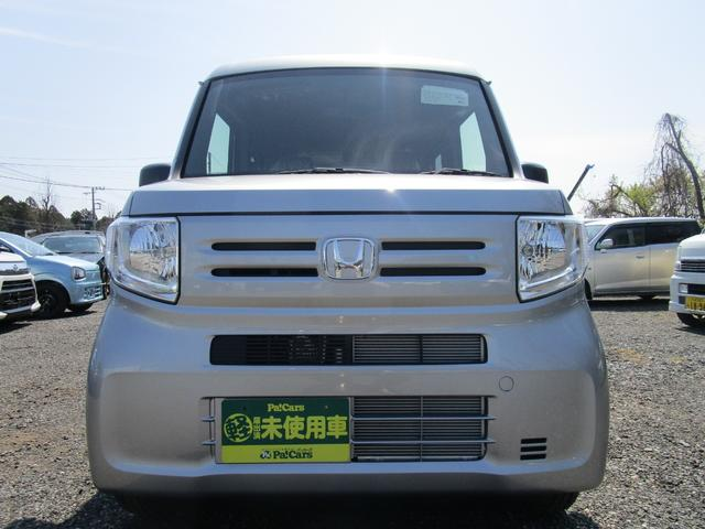 ホンダ N-VAN G 届出済未使用車 キーレス CVT FF ハイルーフ 助手席フラットシート フルフラットシート プライバシーガラス オートエアコン