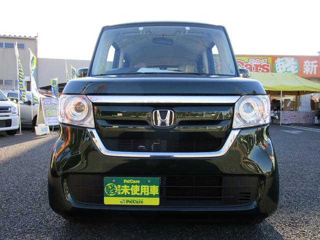 ホンダ N-BOX G 届出済未使用車 スマートキー プッシュスタート LEDヘッドライト UV&IRカットガラス 両側スライドドア Wエアバッグ ABS 横滑り防止