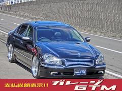 シーマ黒革サンルーフ車高調20インチ3000ccターボ280馬力