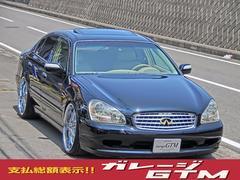 インフィニティ Q45逆輸入左ハンドル新品車高調22インチアルミ本革内装サンルーフ