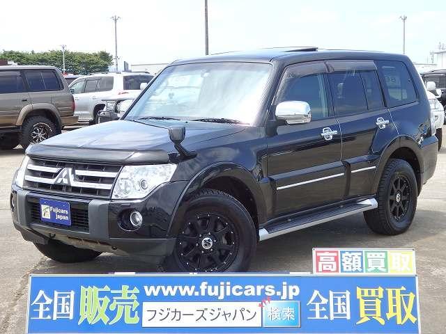 三菱 Sエクシード 純HDD ロックフォード 黒革 サンルーフ