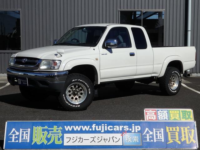 トヨタ エクストラキャブ W 4WD メモリーナビ ヒッチメンバー