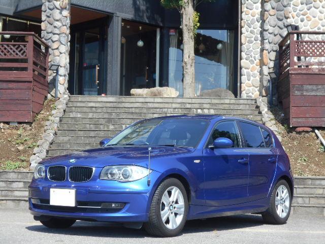 BMW 120i  社外DVDナビ バックカメラ Pスタート