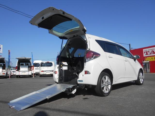 トヨタ 1.5Gウェルキャブ 車いす仕様車Iリア席付  ワンオーナー