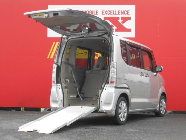 ホンダ N-BOX+ G・Lパッケージ 車椅子仕様車スロープ 社外メモリーナビ バックカメラ