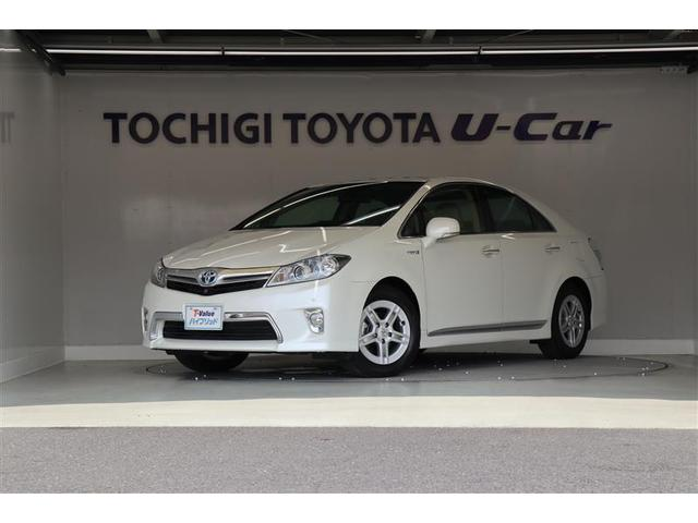 トヨタ G ワンオーナー・本革パワーシート・メーカー装着ナビ・ETC