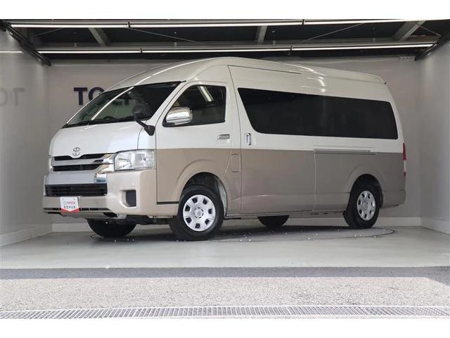 トヨタ ハイエースワゴン グランドキャビン バックモニター付純正メモリーナビ ETC キーレス