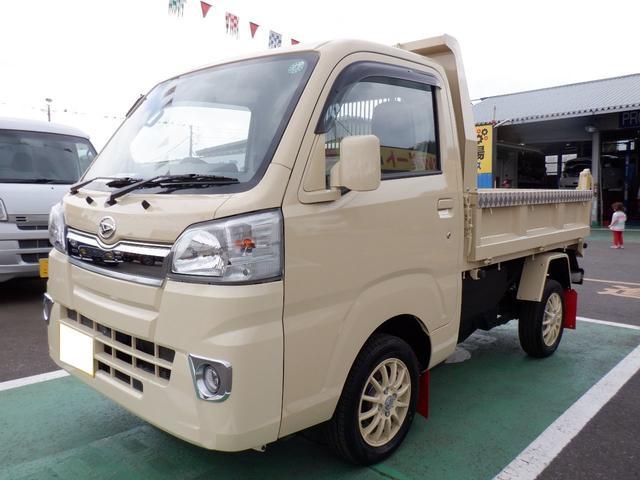 ダイハツ ダンプ 4WD ダンプ PTO マニュアル車