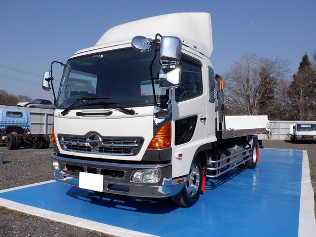 日野  フラトップ積載車 増トン 積載5.9t