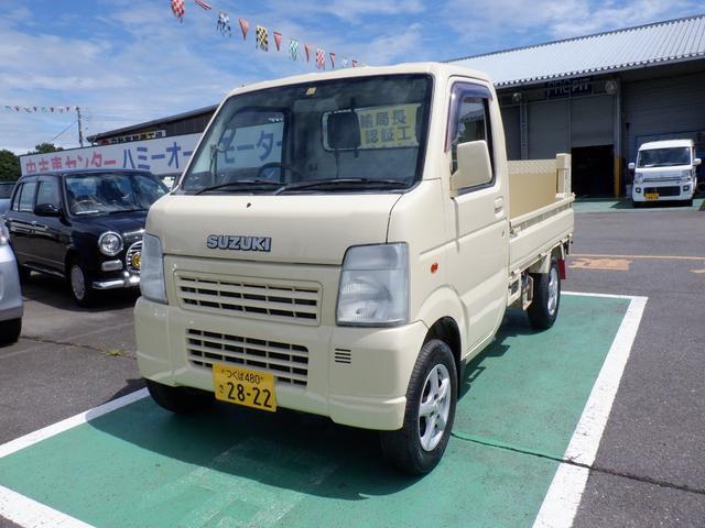 スズキ キャリイトラック  新明和昇降ゲート マニュアル車 4WD