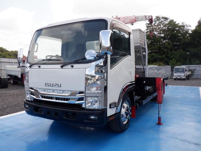 いすゞ  ワイド 4段クレーン ラジコン 最大積載量3.75t