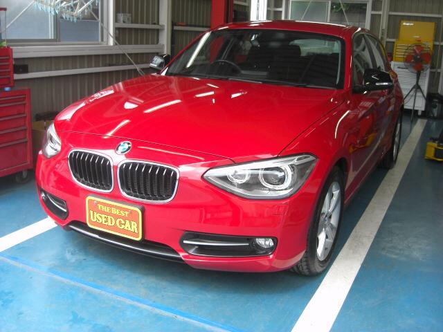 BMW 116i スポーツ ワンオーナー 禁煙車 ナビTV