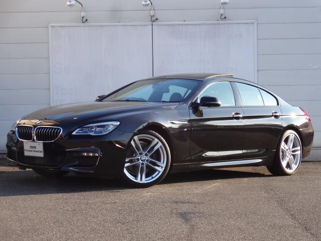 BMW 640iグランクーペ Mスポーツ 認定中古車 SR ACC