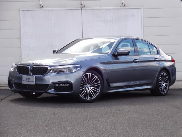 BMW 5シリーズ 523d Mスポーツ レザーシート ヘッドアッ...