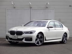 BMW740i Mスポーツ ステアリングアシスト レザーシート