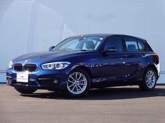 BMW118i 元試乗車 LEDヘッドライト 純正HDDナビ