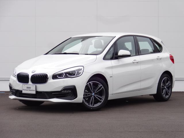 BMW 218iアクティブツアラー スポーツ登録済未使用車ACC