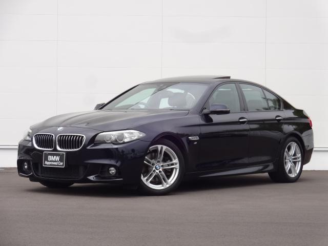 BMW 528i Mスポーツ レザーシート サンルーフ HDDナビ