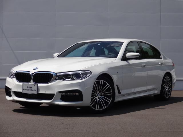 BMW 530i Mスポーツ 左H 元試乗車 HDDナビ ACC