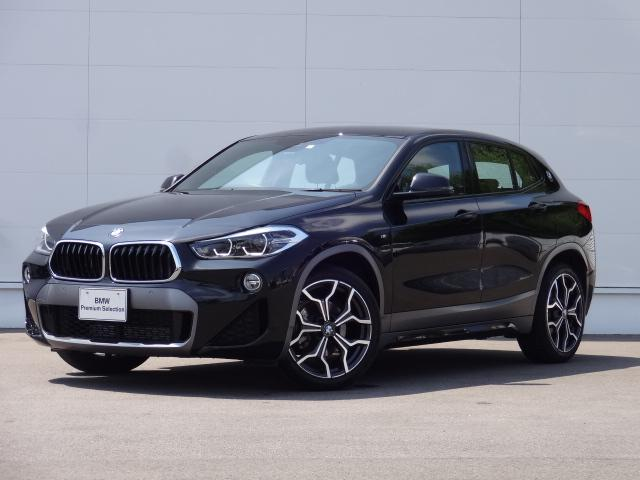 BMW X2 sDrive 18i MスポーツX 純正HDDナビ コンフォートアクセス バックカメラ オートマチックテールゲート ACC HUD 前後PDC 純正19インチ