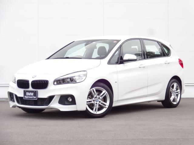 BMW 218dアクティブツアラー Mスポーツ HDDナビ 電動リアゲート LEDヘッドライト